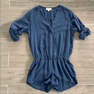 Anthropologie Cloth & Stone Romper with Pockets